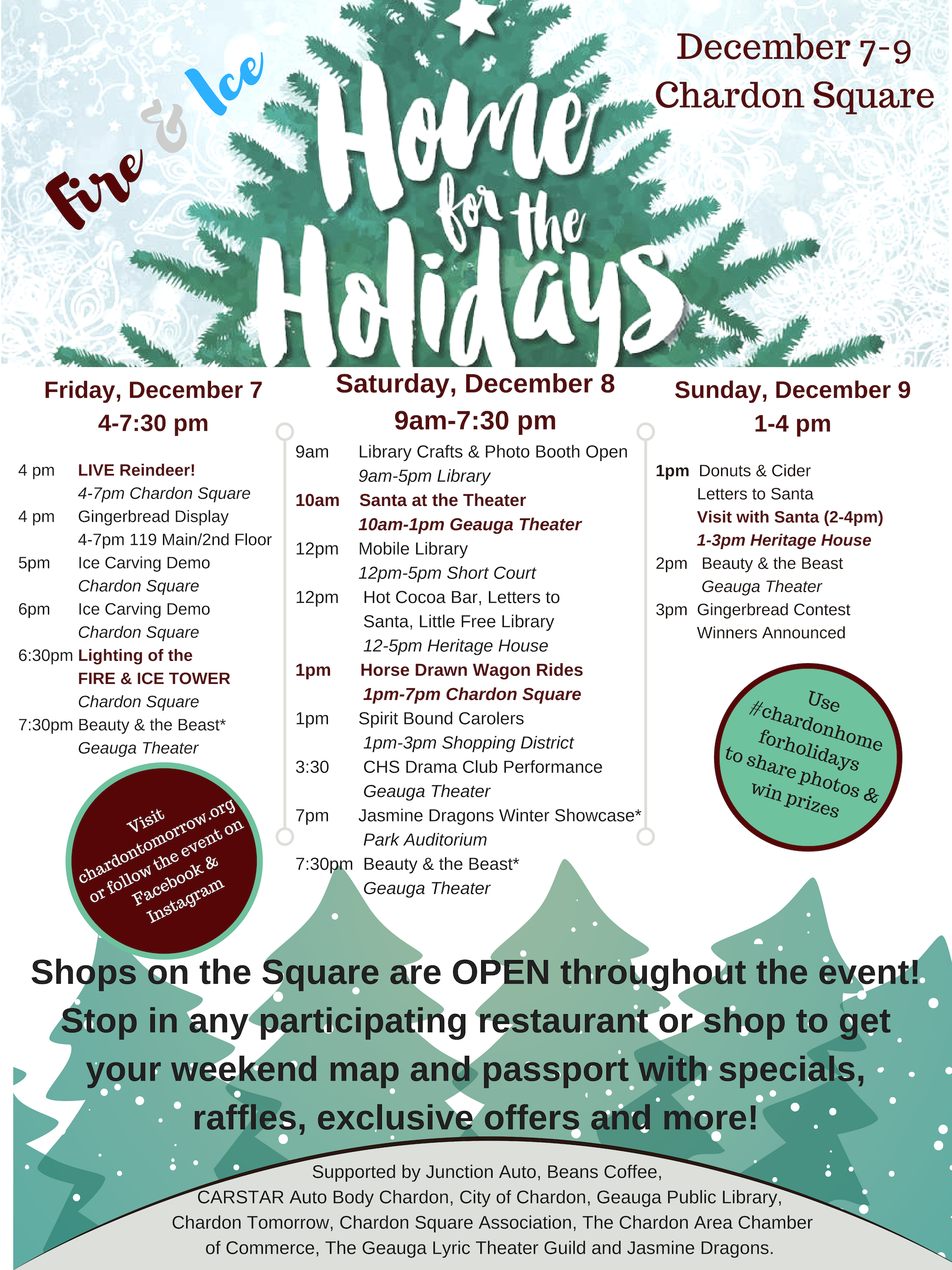 Home for the Holidays – Chardon Square Association